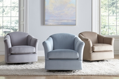 Gabriel Swivel Glider : club chairs for living room - Cheerinfomania.Com