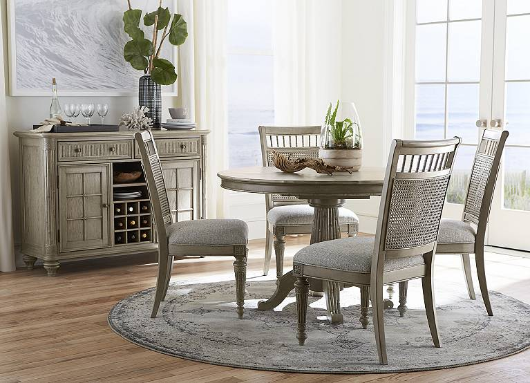 Highland Beach Round Dining Table, Havertys Dining Room Table