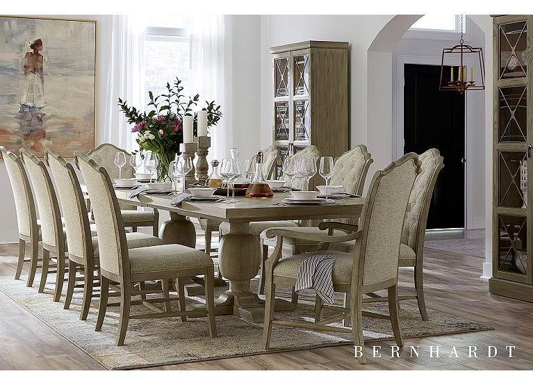 Candler Park Dining Table Find The, Havertys Dining Room Table