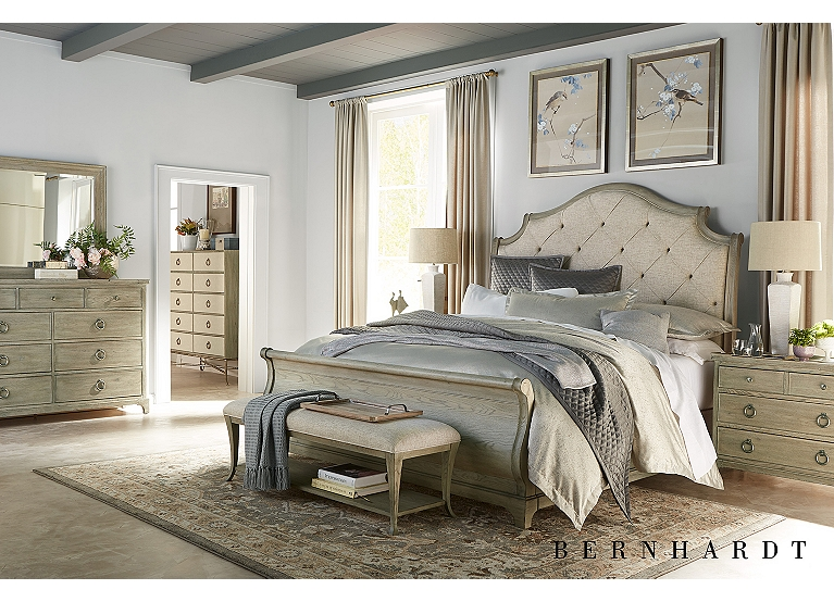 Candler Park Sleigh Bed Find The Perfect Style Havertys