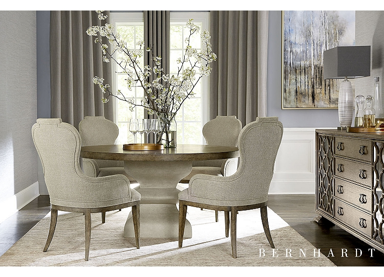 Westcliffe Round Dining Table Find The Perfect Style Havertys