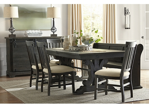Wondrous Dining Room Tables Round Square Rectangle More Havertys Interior Design Ideas Truasarkarijobsexamcom