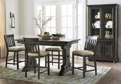 Elegant Blue Ridge Counter Height Table