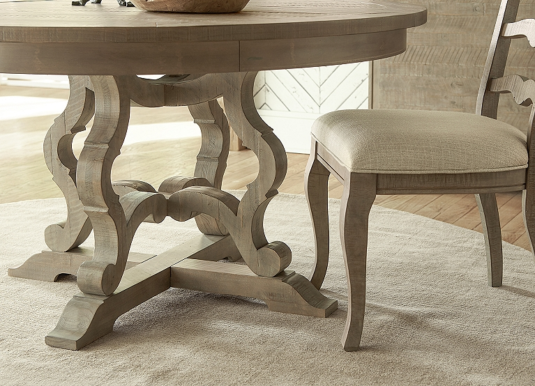 Blue Ridge Round Dining Table Find The Perfect Style Havertys