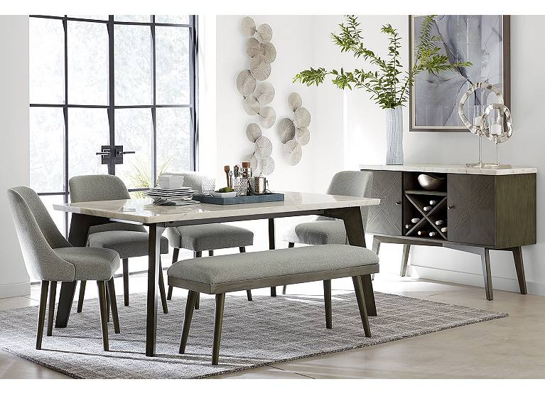 Avalon Dining Table Find The Perfect, Havertys Dining Room Table