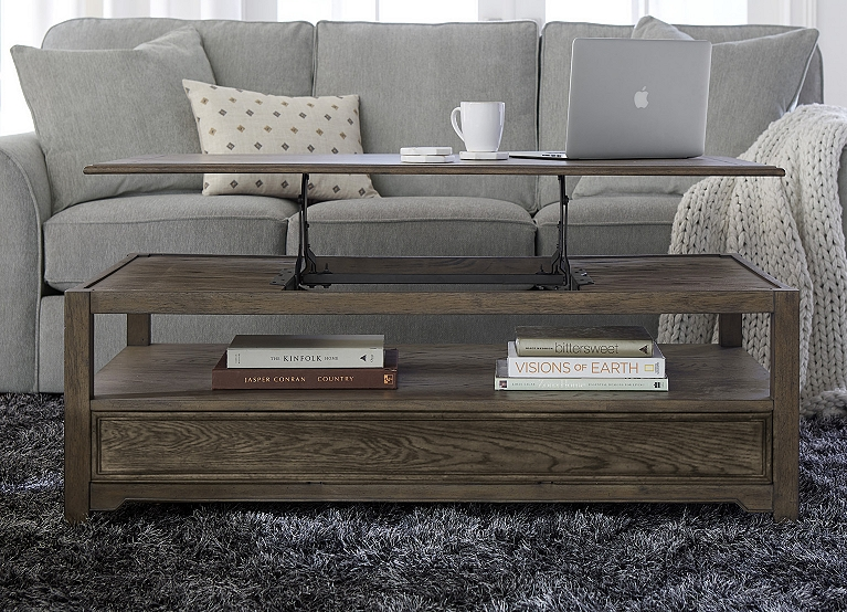 Anniston Lift Top Coffee Table Find The Perfect Style Havertys