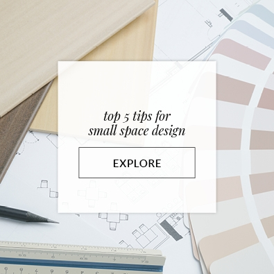 Top 5 Tips for Small Space Design