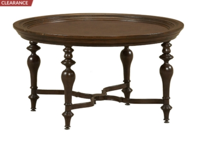 san marcos round cocktail table | havertys