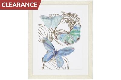 Mariposa Collage Framed Art IV